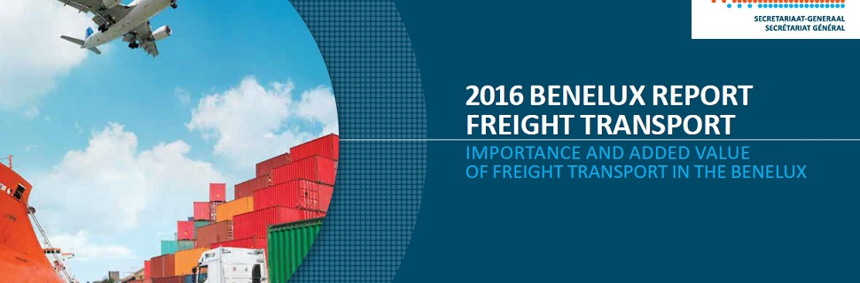 THE BENELUX STUDY ON FREIGHT TRANSPORT IS NOW AVAILABLE - Cluster