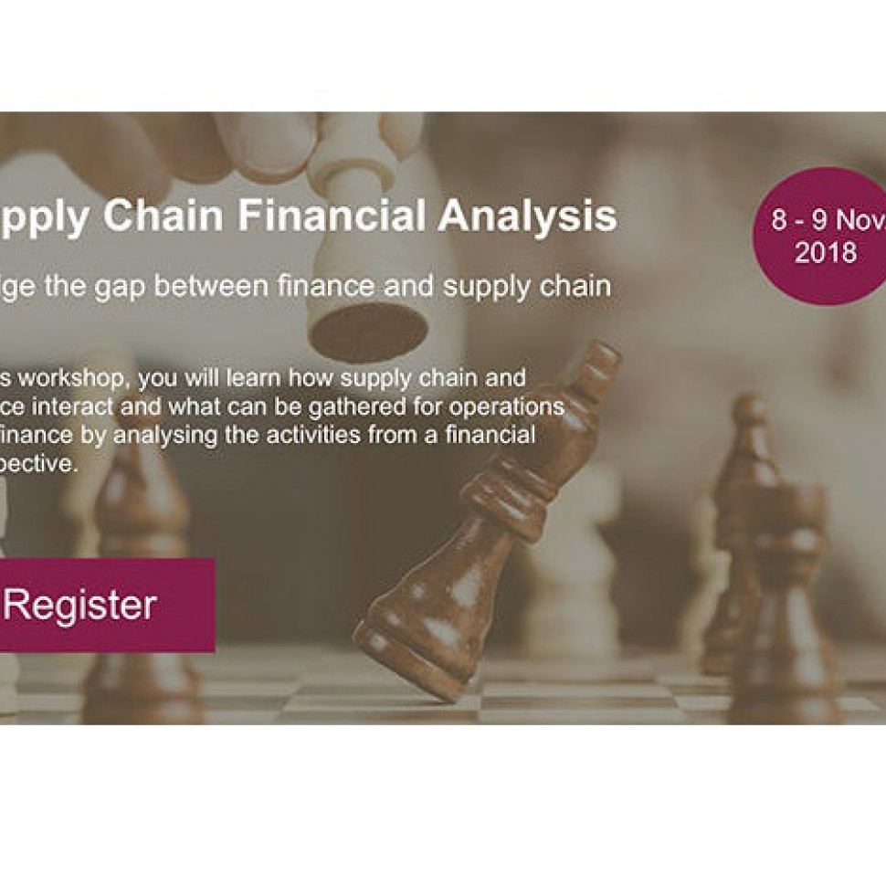 supply chain financial analysis
